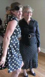LADIES IN DOTS