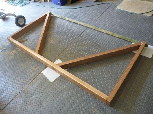 Arbor seat frame