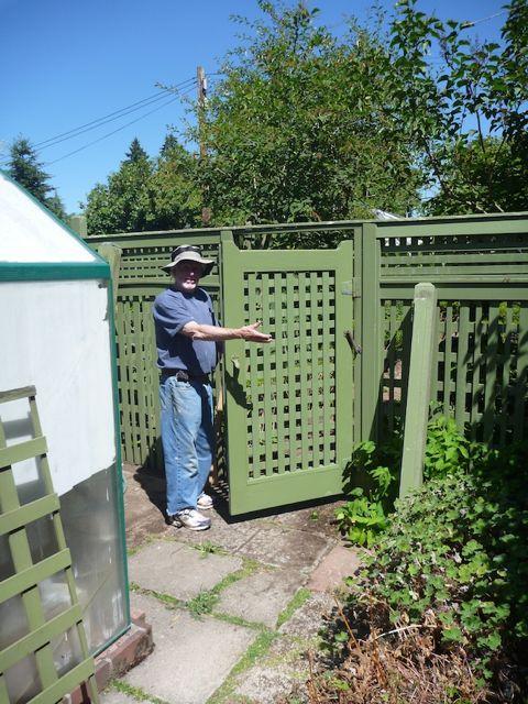 gate repair complete