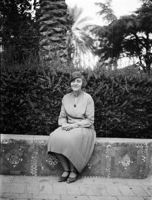 Schryver in Spain 1927