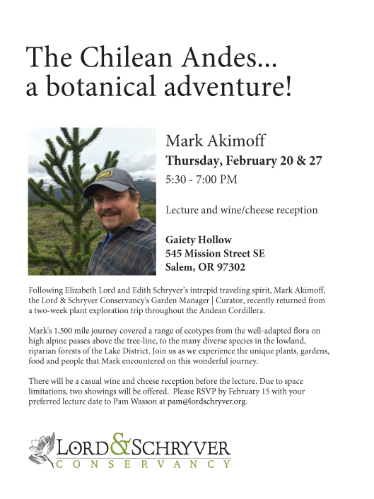Mark Akimoff Chile lecture flier
